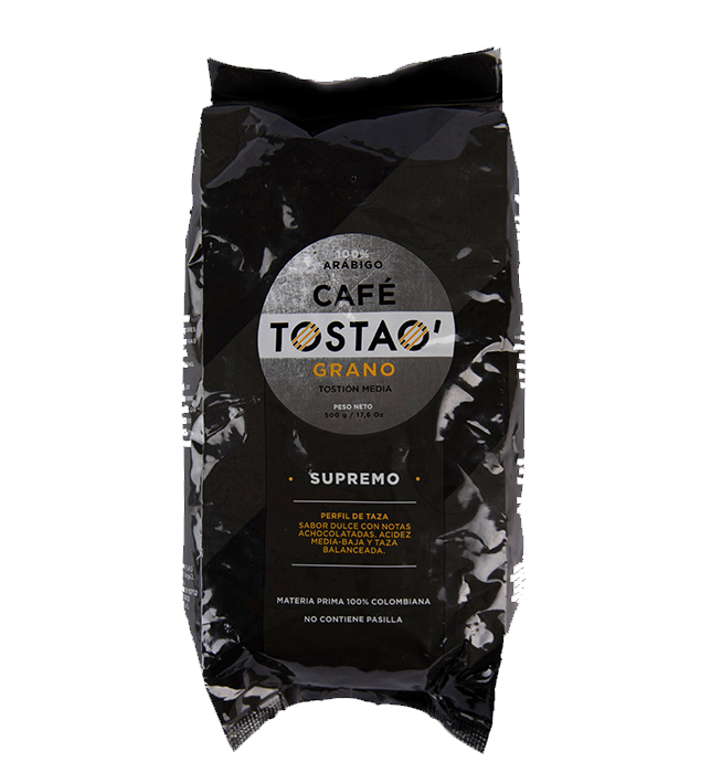 Cafe Tostao Excelso X500 Gr